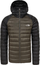 The North Face Trevail Hooded Jacket Herren new taupe greentnf black